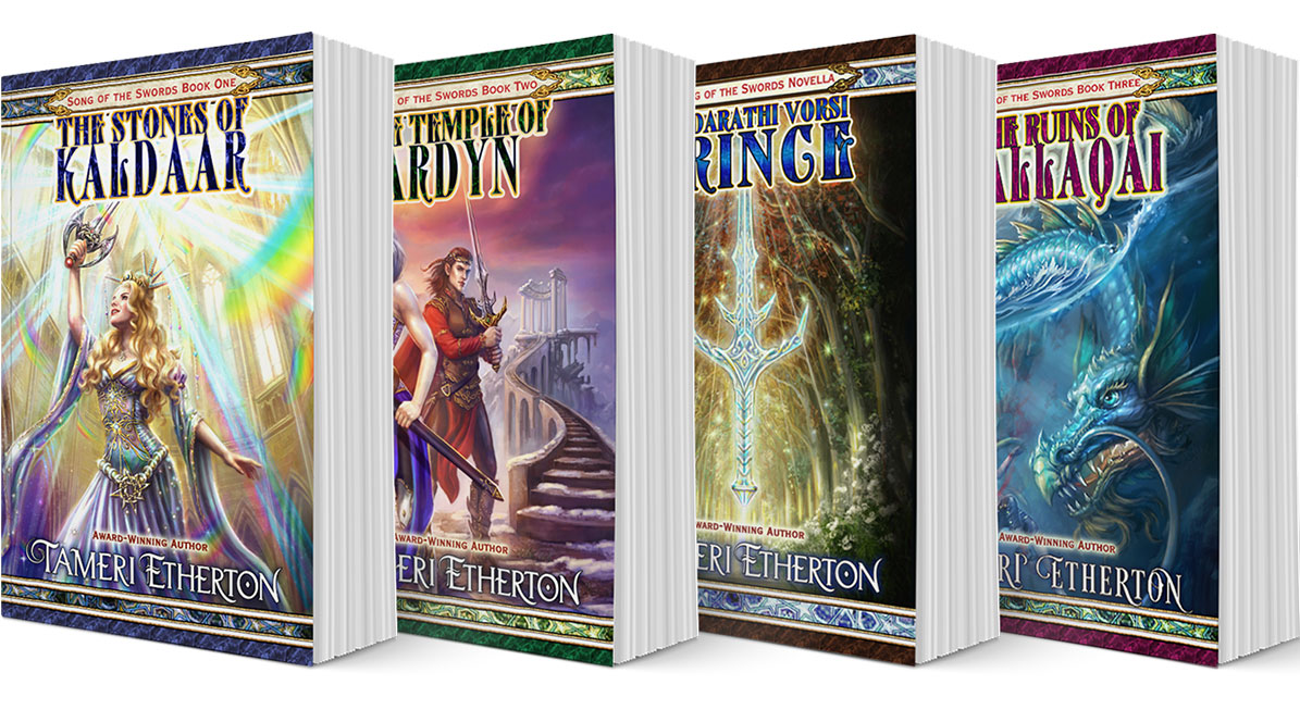 The Song of the Swords Series by Tameri Etherton